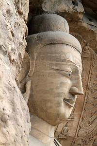 Main Buddha, Yungang Caves, Datong, China.