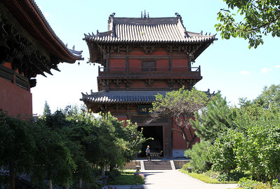 Building at Shanhua Temple, Datong, China.