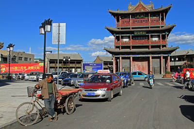 Drum Tower, Datong, China.