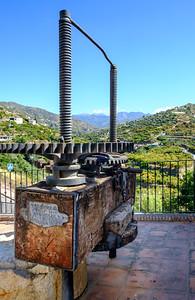 old olive press, Torrox