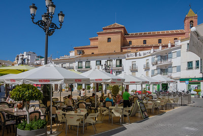 The plaza, Torrox