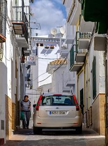 A narrow street in Torrox