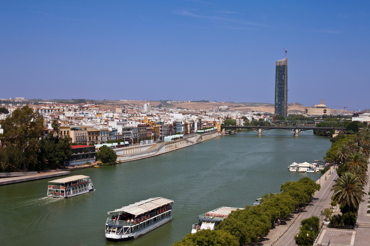 Canal of Alfonso XIII - Sevilla