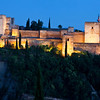 The Alcazaba at Night - Granada