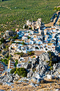 Village of Zuheros in Andalucia, Spain