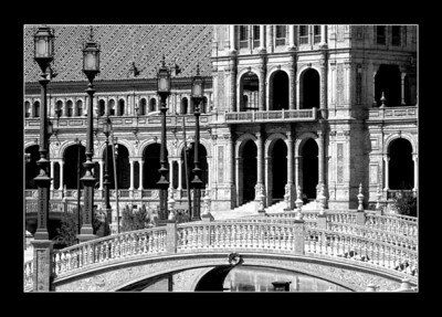 The Plaza de España, Seville