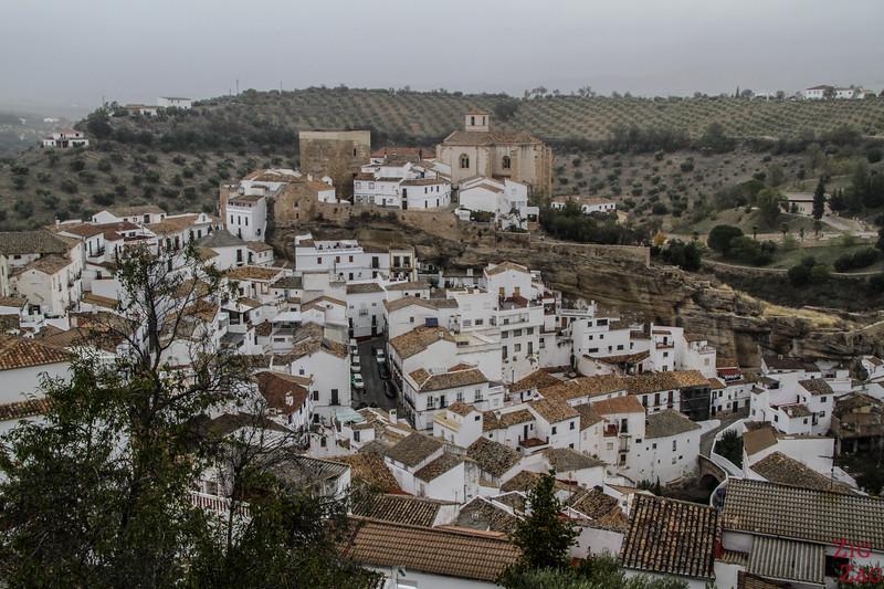 Pueblo blanco Setenil de las Bodegas - viewpoint 4