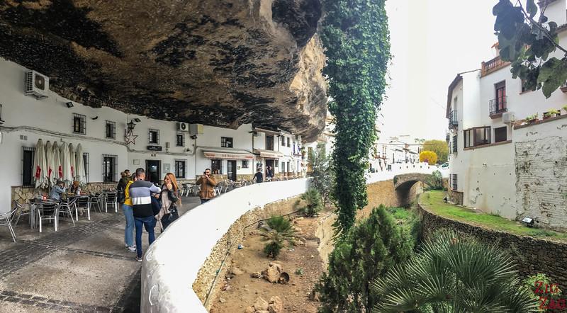 Calle Cuevas del Sol Setenil de las Bodegas