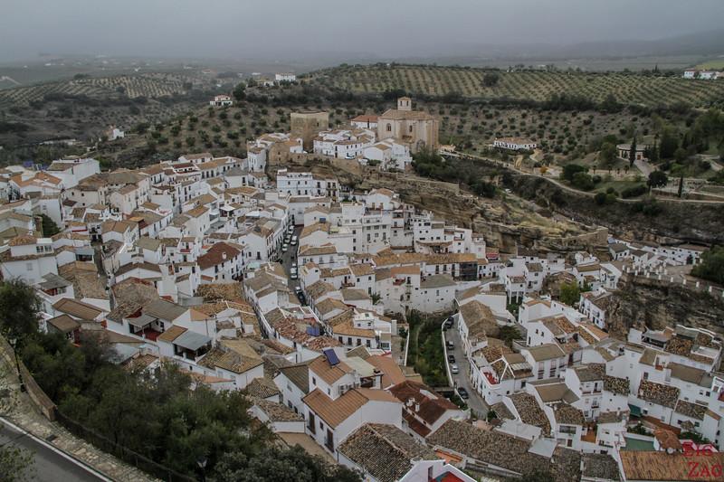 Pueblo blanco Setenil de las Bodegas - viewpoint 3