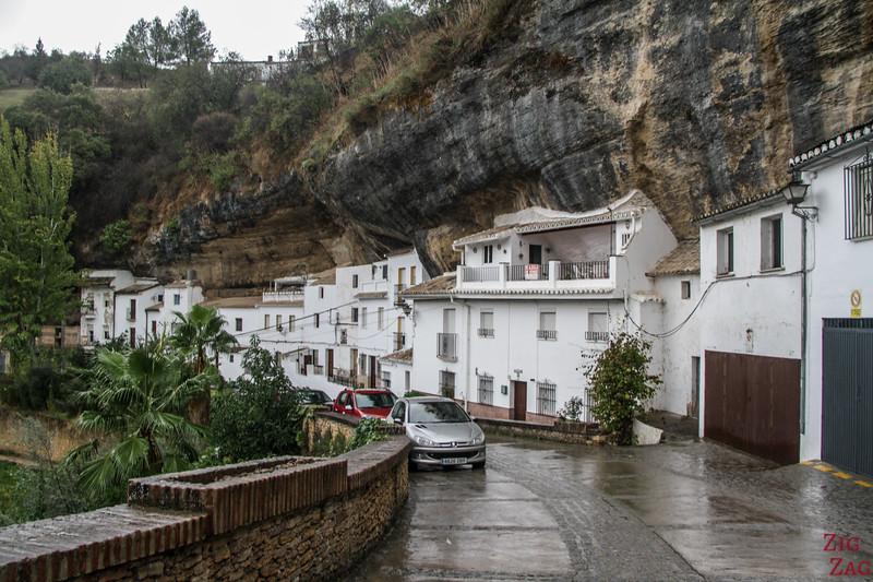 Calle Jaboneria Setenil de las Bodegas