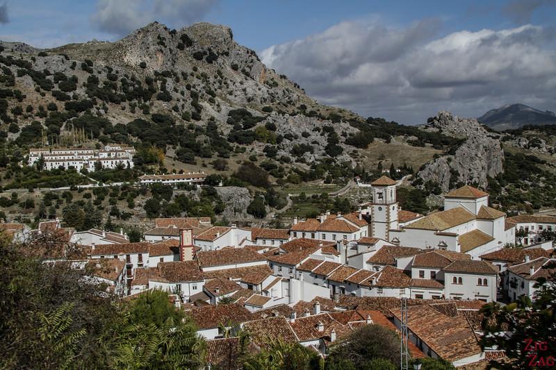 Grazalema - pueblo blanco près de Ronda 2
