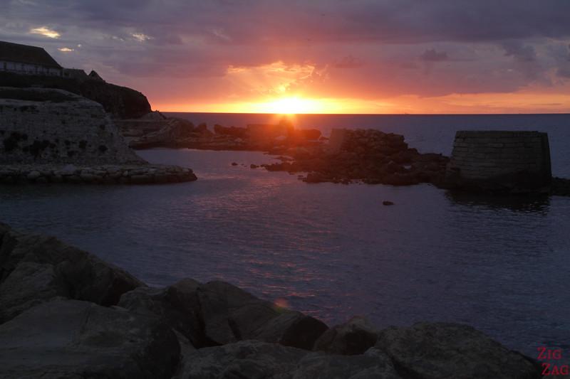 Coucher de soleil à Tarifa
