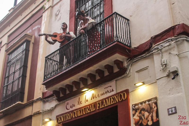 Musée du flamenco, Séville