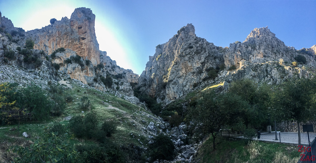 Rio Bailon canyon - hike 1