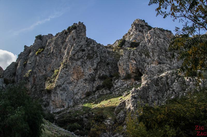 Rio Bailon canyon - hike 3