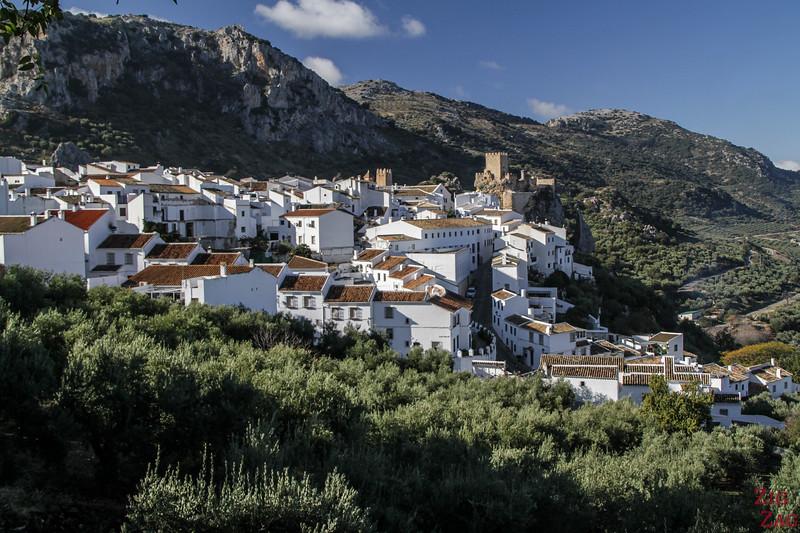village of Zuheros Andalucia