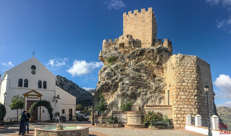 Zuheros castle 1