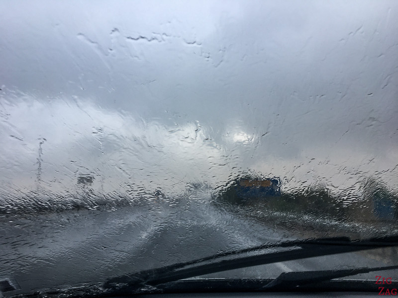 best time to visit Andalucia - rain