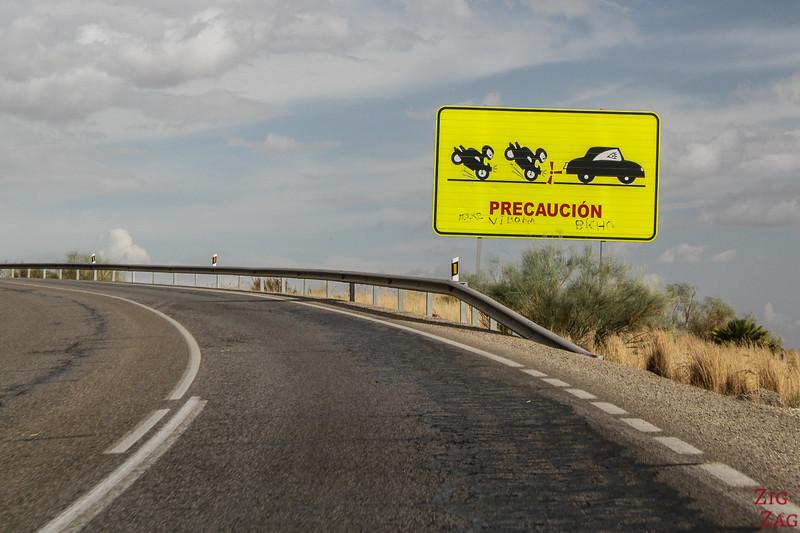 Conduire en Andalousie