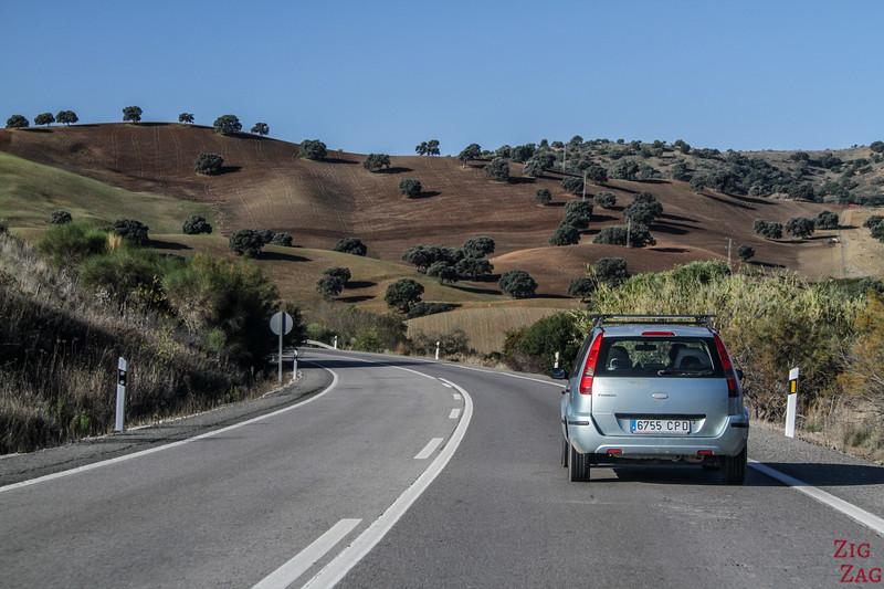 Louer une voiture en Andalousie