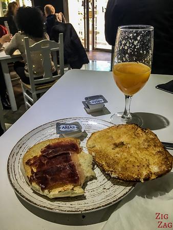 Petit-déjeuner en Andalousie