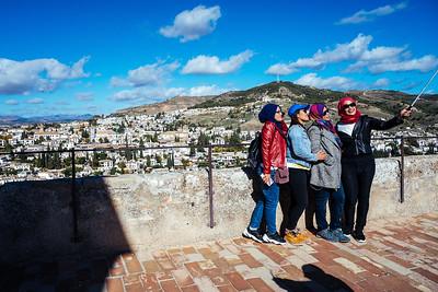 Granada - (selfie) Alhambra