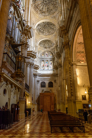 Malaga Cathedral (inside)