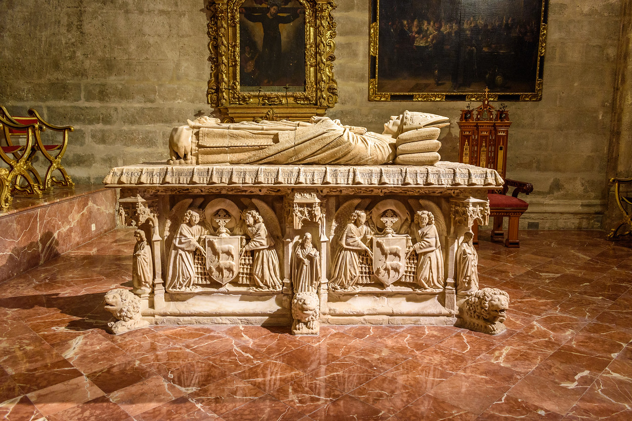 Tomb in Seville Cathedral