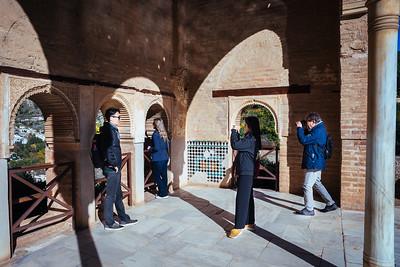 Granada - Alhambra (selfie, again)