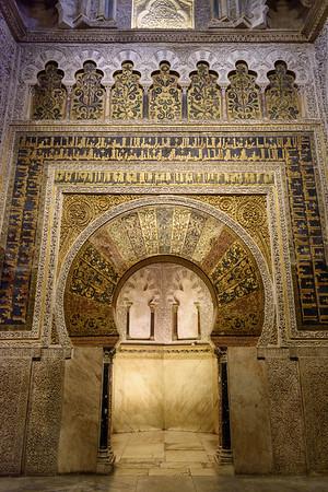 Mezquita (interior)