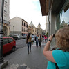 Jamie shooting Granada.