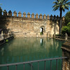 Water gardens at the Mezquita.