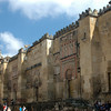 The facade of the Mezquita. The original Great Mosque was built in 785, and the more lavish additions were made subsequently. The Catholic cathedral that is encompassed on the site was built in the 1700's.