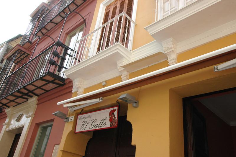 City streets in Malaga.