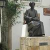 Statue of Maimonides.
