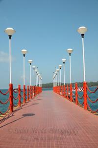 Jetty at Port Blair, A&N, Andaman & Nicobar, India.