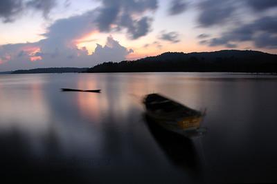 Sunset at Port Blair, A&N (Andaman & Nicobar) Islands.