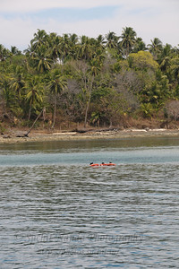 Boat ride from Jolly Buoy island to Ross Island, A&N, Andaman & Nicobar, Islands, India.