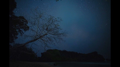 Night Timelapse from Little Andaman