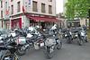 Andorra 2014 - Heenreis - Middagpauze in Auxerre