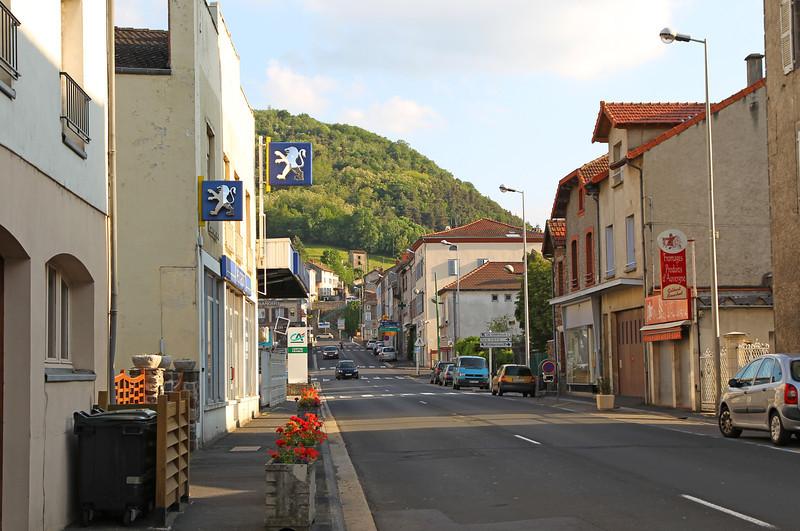 Andorra en spaanse pyreneeën - Terugreis op Zaterdag 31/5 en Zondag 1/6/2014  - Tussenstop in Massiac (F)