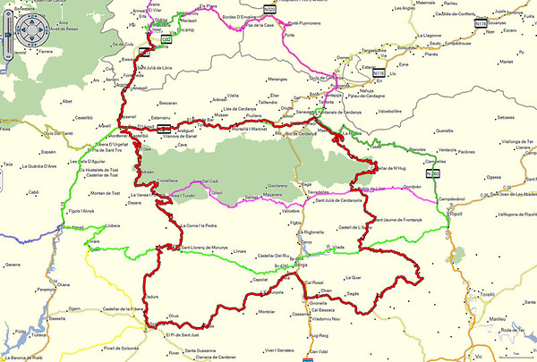 Andorra 2014 - De route van vrijdag