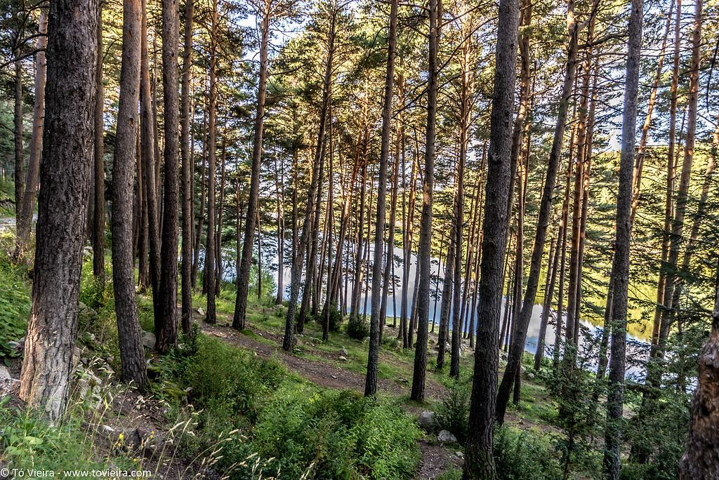 Lago de Engolasters - Encamp -  <br /> andorra
