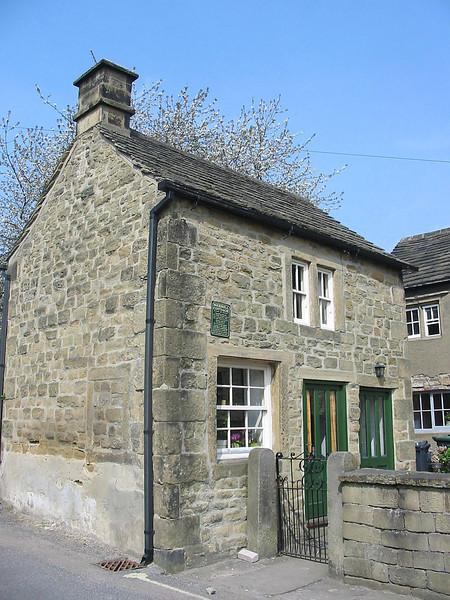 Cottage in village of Eyam