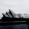 The Opera House in Black and White