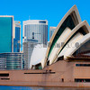 The Opera House in soft colours