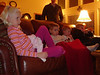 The kids watch a movie, but this time it's real Jason behind them. (1/11/08)