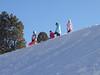 Top of the hill (Aimee, Logan, Steph, Ellie)