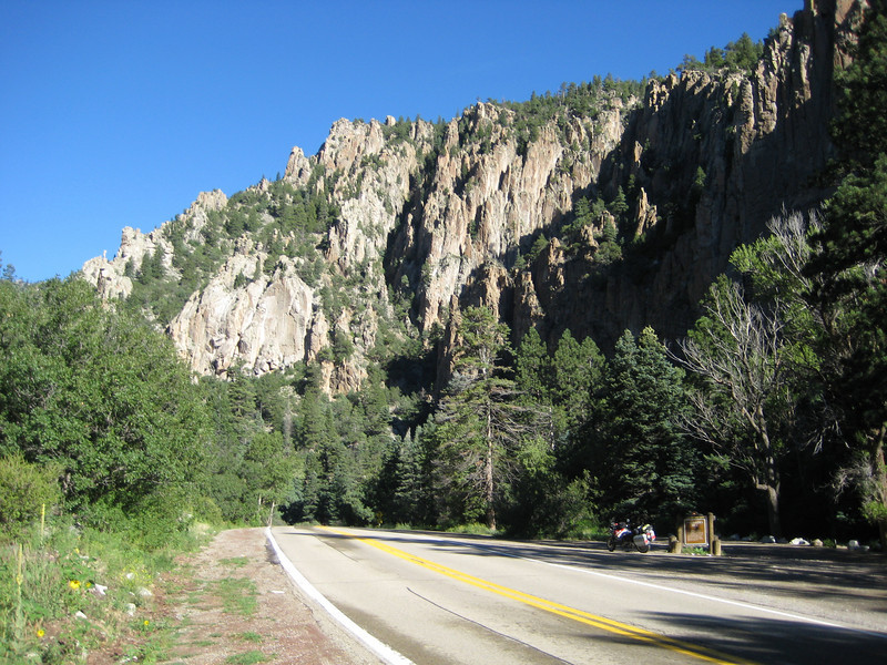 Between Eagles Nest and Cimarron on NM64