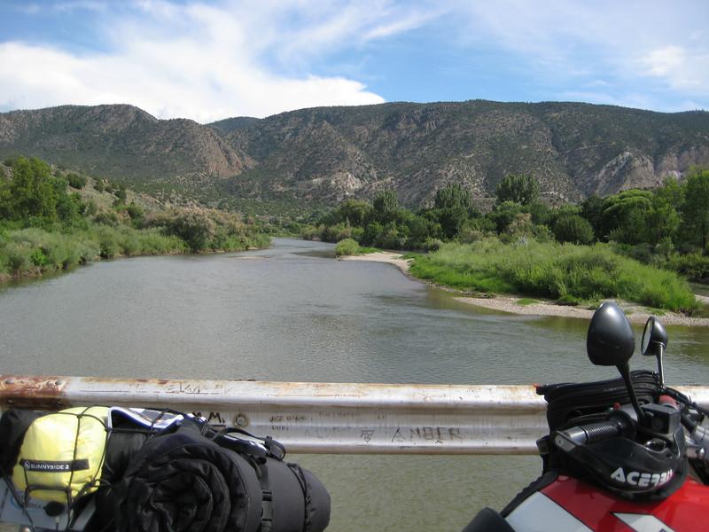 The Rio Grande at Pilar